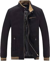 Jackdaine Men's Fashion <b>Spring</b> and Autumn <b>Thin Section</b> Collar ...