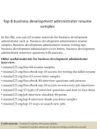 business development administrator sample resume transfer essay business development administrator sample resume business development administrator sample resume