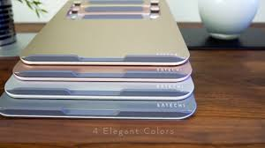 <b>Satechi Aluminum Portable</b> Collapsible Laptop Stand - YouTube