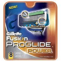 Кассеты <b>Gillette Fusion Proglide</b> Power для бритвенного <b>станка</b> ...