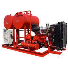 <b>Custom</b> Configured Packaged <b>Fire Pump</b> Sets   NAFFCO FZCO ...