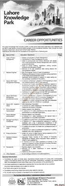 lahore knowledge park company jobs jang jobs ads  lahore knowledge park company jobs jang jobs ads 01 2016