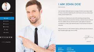 Free PSD Portfolio and Resume Website Templates     My Store