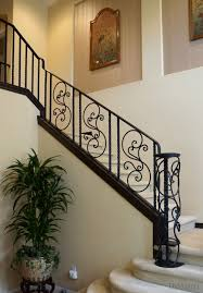 Custom Stair Railing Custom Iron Railings Hand Forged Iron Railings Demejico