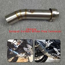 Motorcycle Exhaust Contact Middle Mid Pipe Connector <b>for HONDA</b> ...