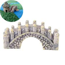 plaster decor stone arches resin fantasy miniatures stone arch bridge house fairy garden terrariu