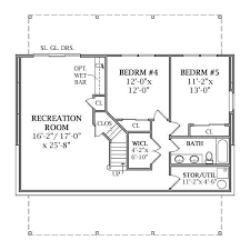 Impressive House Plans With Basement   House Floor Plans With    Impressive House Plans With Basement   House Floor Plans With Walkout Basement