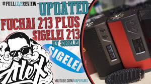 UPDATED | Fuchai 213 Plus [223W] & <b>Leather</b> Sigelei 213 l by ...
