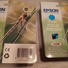 <b>Картриджи</b> новые Epson T0822 <b>cyan</b> C13T11224A10 – купить в ...