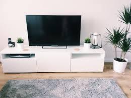 Tesco Living Room Furniture My New Living Room Minimal Look Plants Besta Tv Unit And Cork