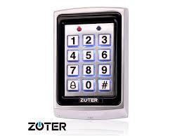 ZOTER <b>Metal RFID</b> ID Card 125KHz Password Code Non-Contact ...