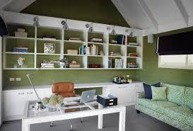 unique home office design idea bright home office design