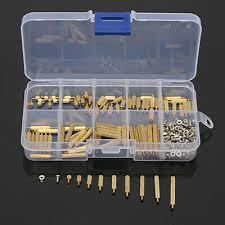 <b>270pcs</b>/<b>Set M2</b> Brass Spacers Standoff Circuit Board <b>PCB</b> Nut ...