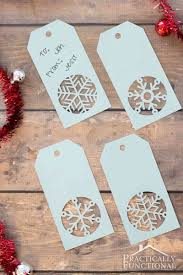 handmade snowflake christmas gift tags template love these handmade snowflake christmas gift tags get the cuttable file or printable