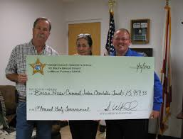 southwest florida online sunday morning news  16 000 to haas family from hendry sheriff