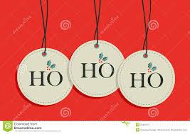 christmas hang tags set royalty stock photography christmas hang tags set