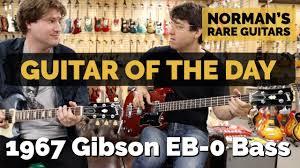 <b>Guitar</b> of the <b>Day</b>: 1967 <b>Gibson</b> EB-0 Bass Cherry | Norman's Rare ...