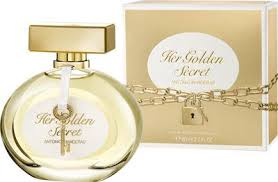 <b>Antonio Banderas Her Golden</b> Secret EdT 80 ml