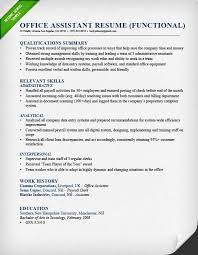 how to write a qualifications summary   resume geniuswaiter functional resume example  functional resume for an office assistant