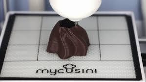 <b>IT'S ALL ABOUT</b> CHOCO   mycusini   3D Food <b>Printing</b>