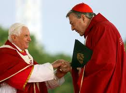 "Image result for ""cardinal pell"" ""pope Benedict"""