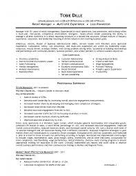 s operations manager resume