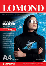 <b>Термотрансферная бумага LOMOND</b> Transfer Paper for dark cloth ...