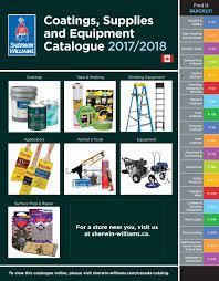 Sherwin-Williams Canada Catalogue: Coatings, Supplies ...