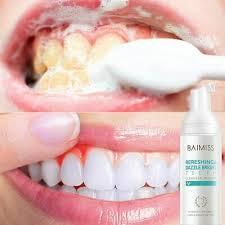 <b>Fresh Shining Tooth</b>-<b>Cleaning</b> BAIMISS Mousse <b>Toothpaste</b> Teeth ...