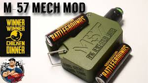 Pilot Vape M-57 Mech Mod Review | {PUBG ...