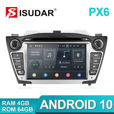 Isudar PX6 <b>2 Din Android 10</b> Car Multimedia Player GPS For ...