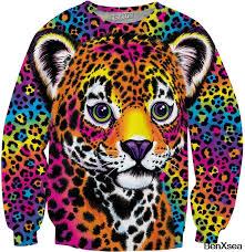 Online Shop Lisa Frank Dolphins <b>Sweatshirt</b> Psychedelic <b>3d</b> Printed ...