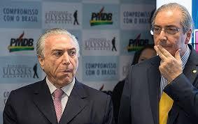 Resultado de imagem para imagem de Temer e Eduardo Cunha