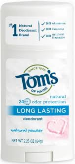 Tom's of Maine <b>Natural Long Lasting Natural</b> Powder <b>Deodorant</b> Stick