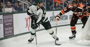 Patrick Khodorenko leads Michigan State hockey past Ferris State