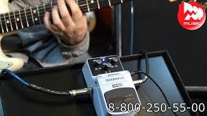 Гитарный <b>эффект</b> BEHRINGER OD400 OVERDRIVE - YouTube