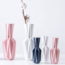 <b>The origami Vases Ceramic</b> Tabletop big Vase Home Decoration ...