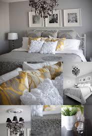 yellow gray bedroom decorating ideas