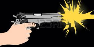 Image result for pics of firing a gun