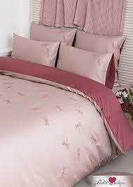 <b>Постельное белье Fairy</b> Tale Цвет: Пудрово-Розовый (2 сп. Евро ...