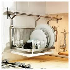 chrome plated circular dish drainer kitchen