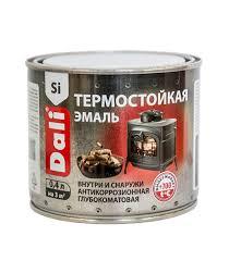<b>Эмаль Dali термостойкая</b> серебро 0,4 л — купить в Петровиче в ...