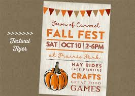festival flyer fall fest printable flyer festival craft fair vendor market pumpkin autumn