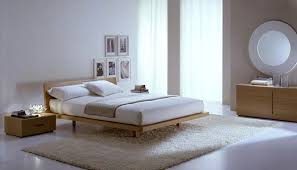 View In Gallery Modern Italian Wooden Bed Chic Bedroom Furniture Selections