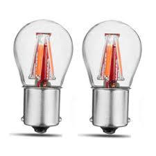 <b>2pcs</b> upgraded 1157 bay15d 21/5w red <b>4 filament</b> cob led stop ...