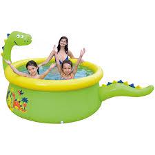 <b>Надувной бассейн JILONG DINOSAUR</b> 3D SPRAY 175х62см ...