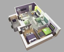 Two Bedrooms House Plans Designs  FlodingResortcom - Two bedroomed house plans
