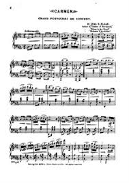 <b>Potpourri</b> on Themes from 'Carmen' by Bizet by <b>C.D. Blake</b> on ...