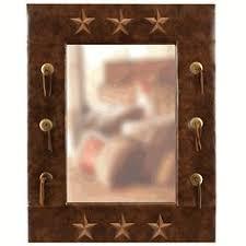 leather star bathroom western decor