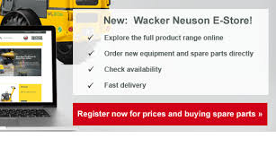 Wacker Neuson E-Store - United Kingdom | Homepage